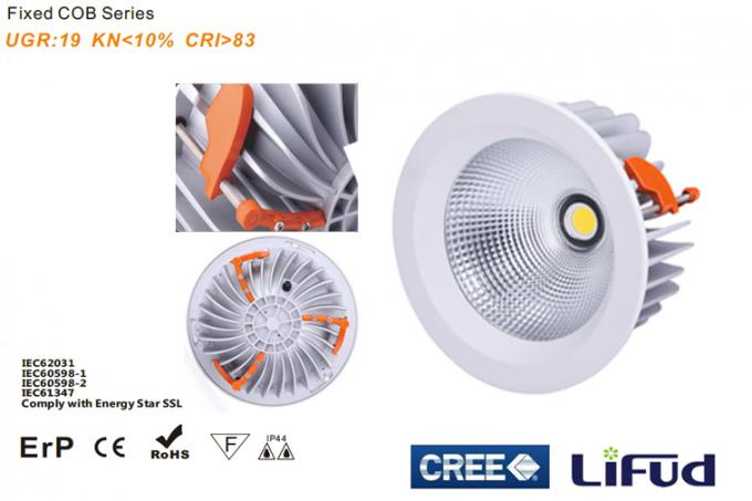 30 WATT Dimmable Led Down Lights CE Certificated CRI >80 40 Deg Beam Angle