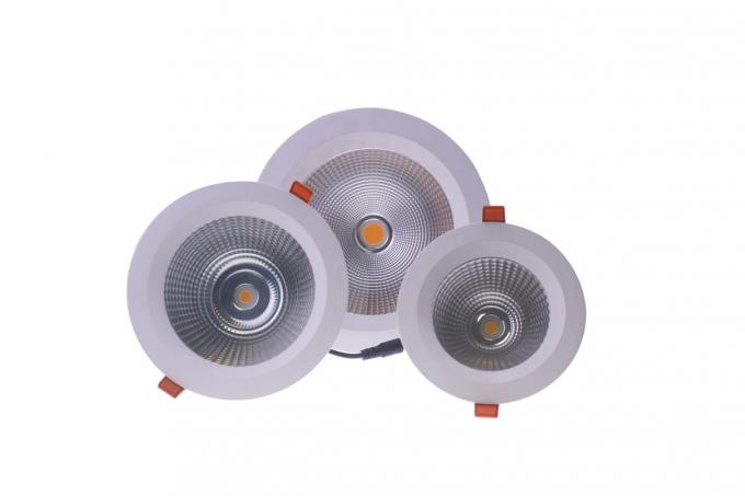 30W Waterproof IP65 dimmable LED Down light, round/square,bathroom and outdoor lighting