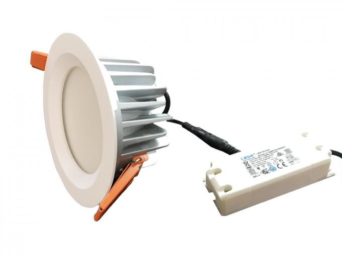 15W IP65 Waterproof LED Ceiling Downlight CRI90 100-240Voltage 3500K / 4000K / 6000K