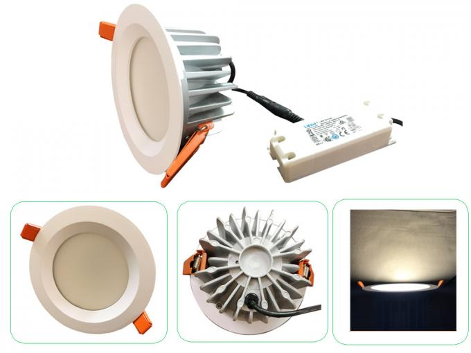 7W / 9W LED Ceiling Lighting , Exterior Downlights Meanwell Driver+ Samsung Leds