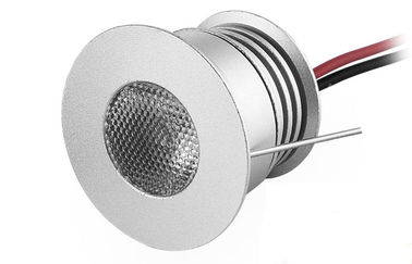 China IP44 3W Dimmable LED Down Lights Recessed Led Cabinet Lights 250LM DC12-24V supplier