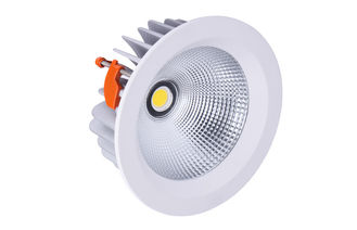 China Waterpoof IP65 8 INCH COB LED Downlight Cut Out 208mm 50W , 4200LM  Recessed LED Light supplier