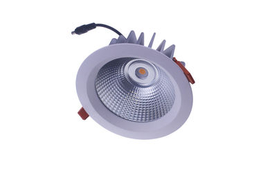 "China Outdoor IP65 Waterproof Led Down Lights 4""@16W  CRI>85 , Clear / Milk Glass Cover supplier"