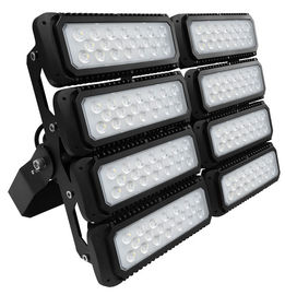 China 600W 155lm/W Outdoor LED Flood Lights With 10 Years Warranty , Black Color Body , Professional Beam Angle supplier