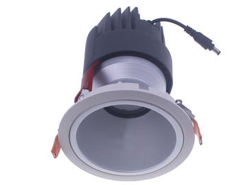 China Adjustable / Fixed Head 36W COB LED Down Light 24°38°Beam Angle For Clothes Shop Lighting supplier