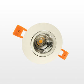 China White 5w / 7w Cob Led Downlight Plane Surface 80 Cri Bathroom Led Downlights supplier