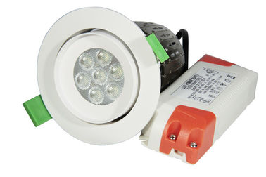 PF 0.92 15watts Dimmable LED Down Lights ,Beam Angle 30 / 60 Degree With CREE Led