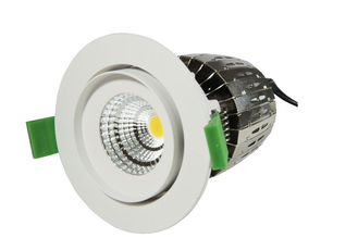 High Efficient Reflector Citizen chip 15W 1200LM Dimmable COB LED Down Light