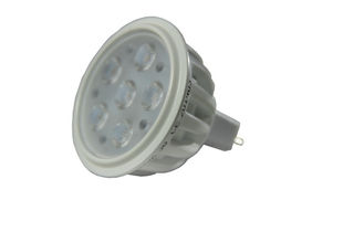 China 12VAC / DC 36 Degree Dimmable LED Spot Lights 6W 580 Lumen Warm White 3000K supplier