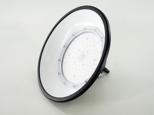 China 100W UFO LED High Bay Lights With Anti - Glare Cap 150LM/W Beam 110° supplier