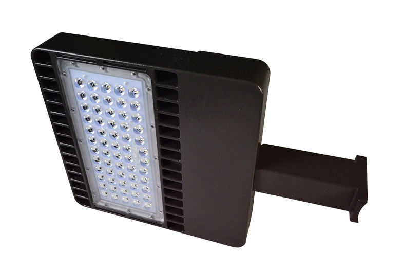 Led 120w commercial parking lot light 15600lm with 6 types bracket mozeypictures Images