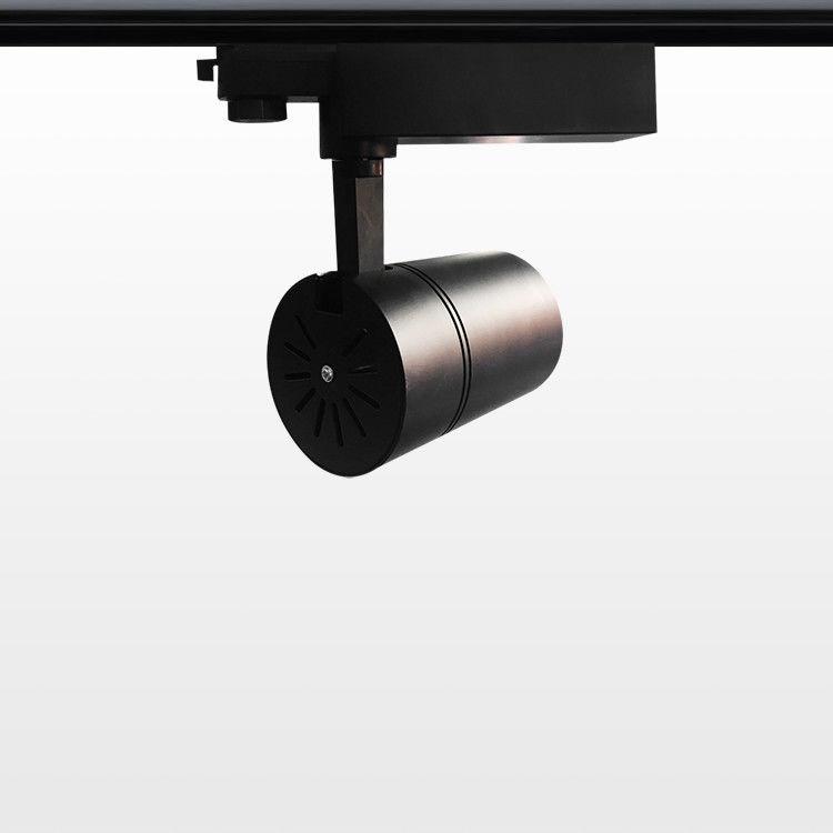Indoor Black Track Spotlights For Residential Lighting