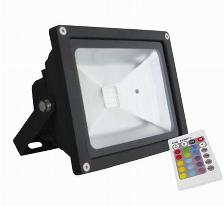 Energy Saving 20 Watt Bridgelux IP65 RGB LED Flood Light