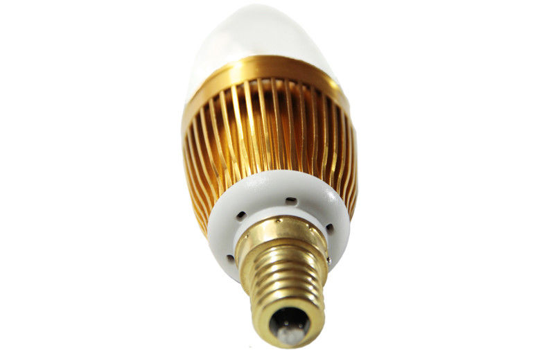 High Efficiency 5w 300lumen Led Candle Bulb Lighting For