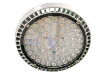 China 22600lm Meanwell HLG Series Driver Led Canopy Lights Tempered Glass Reflector factory