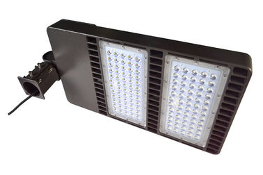 China Portable 160W LED Parking Lot Lighting , Outdoor Led Shoe Box Light distributor