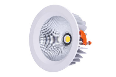 China 40w COB Led Downlight  IP44 8 Inch Cut Out 208mm Dali Dimmable Driver distributor