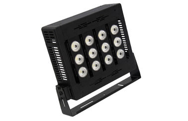 China 90 - 305Vac LED Stadium Lights IP67 100W Black housing Led Stadium Floodlights distributor