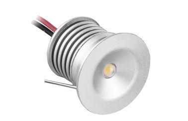 China CRI 80 1 Watt Small Recessed LED Downlights 98LM/W For Washroom , Bathroom distributor