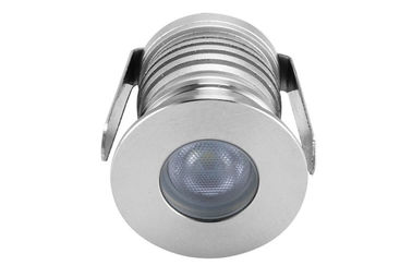China Underground Dimmable LED Down Lights 3 watt 80Ra 2700K/6000K , Stainless steel material distributor