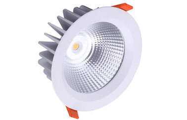 China outdoor  IP65 COB Led Down Lights  22W 1870lm , CRI>80,Clear/milk glass cover distributor