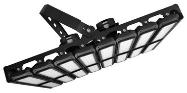 China 1200W IP65 Waterproof LED Flood Light , LED Sports Lamp With Various Beam Options distributor