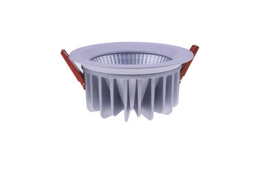 China 10W Waterproof Indoor Led Downlights , 120lm / W Dimmable Downlights COB CREE LEDS distributor