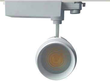 China 30W 35W Dimmable CREE Cob KitchenTrack Lighting 3150lm 80Ra CRI White Customs Track Lighting factory