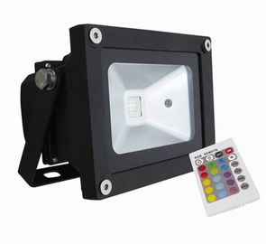 China Outdoor RGB Waterproof LED Flood Light , 90 Ra 120° Industry Flood Light factory