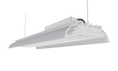China 120W 175LM/W IK10 DIMMABLE FROSTED LENS TWO SIDE COVER K3 LINEAR LED HIGH BAY factory