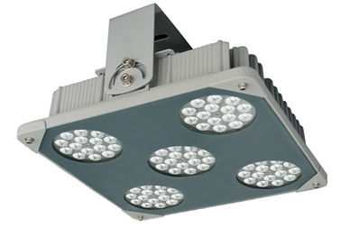 China 5500K Pure White IP66 100W Philips LED Canopy Light 3000K - 6500K distributor