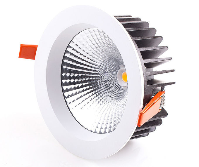 High Luminous 8W / 15W Led Cob Down Light Dimmable For Ceiling , Energy Saving